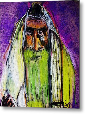 Yakov Metal Print by Joyce Goldin