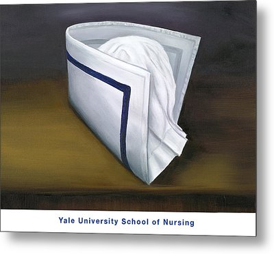Yale University School Of Nursing Metal Print by Marlyn Boyd