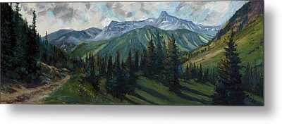 Yankee Boy Basin Metal Print by Billie Colson