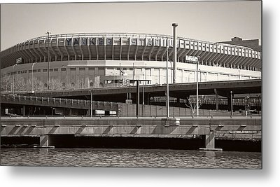 Yankee Stadium    1923  -  2008 Metal Print by Daniel Hagerman