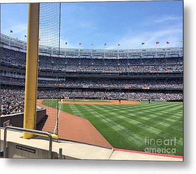 Yankee Stadium_right Field1 Metal Print by All Island Promos