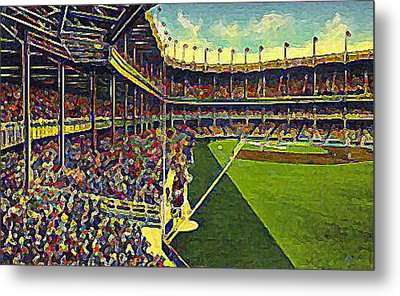 Yankee Stadium From Right Field 1937 Metal Print