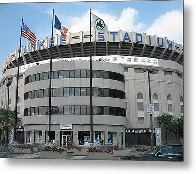 Yankee Stadium - New York Metal Print