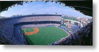 Yankee Stadium Ny Yankees V. Tampa Metal Print by Panoramic Images