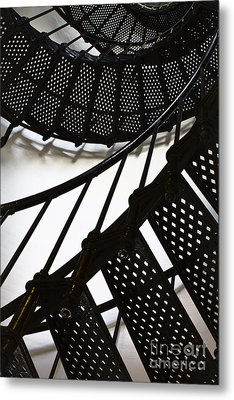 Yaquina Head Lighthouse  Metal Print by Elena Nosyreva
