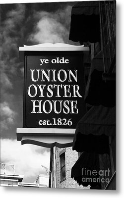 ye olde Union Oyster House Metal Print by John Rizzuto