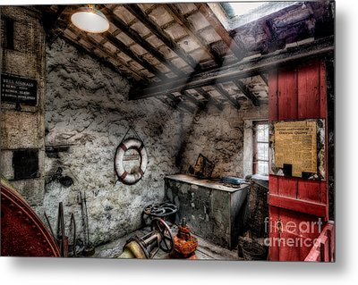 Ye Olde Workshop Metal Print by Adrian Evans