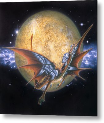 Year Of The Dragon Metal Print by Wayne Pruse