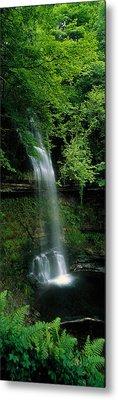 Yeats Waterfall Glencar Co Sligoeire Metal Print
