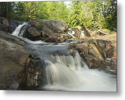 Yellow Dog Falls 3 Metal Print by Michael Peychich