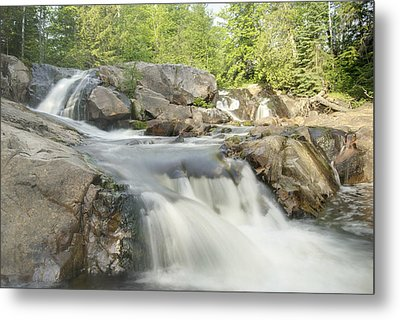 Yellow Dog Falls 4234 Metal Print by Michael Peychich