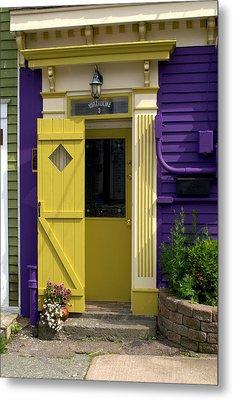 Yellow Door Metal Print by Douglas Pike