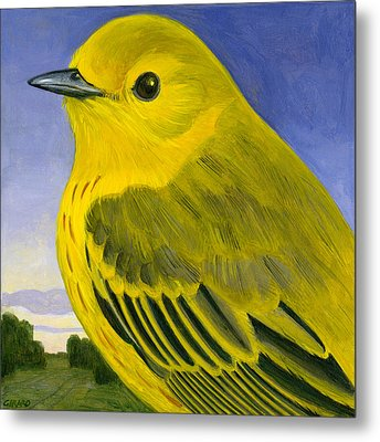 Yellow Warbler Metal Print by Francois Girard