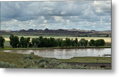 Yellowstone River After The Storm Metal Print