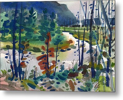 Yellowstone River Metal Print by Donald Maier