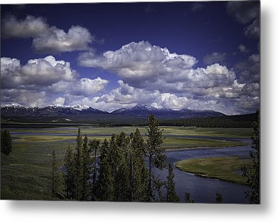 Yellowstone River Metal Print by Jason Moynihan