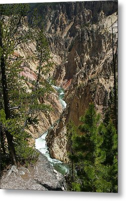 Yellowstone River Metal Print by Linda Phelps