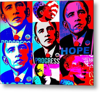 Yes We Can  Metal Print