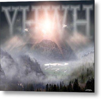 Yhwh Metal Print by Bill Stephens