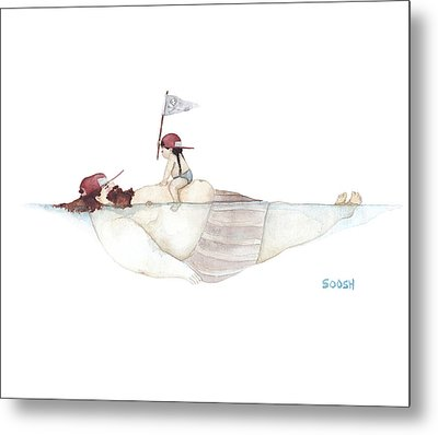 Yo Ho Ho Metal Print by Soosh