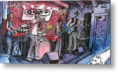 Yo Mammas Big Fat Booty Band Metal Print