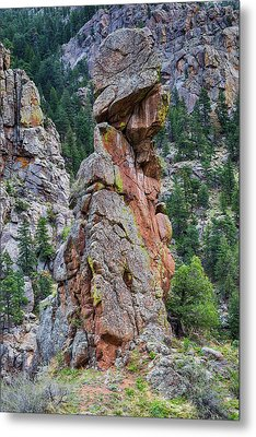Metal Print featuring the photograph Yogi Bear Rock Formation by James BO Insogna