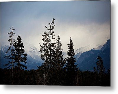 Metal Print featuring the photograph Yoho Mountains British Columbia Canada by Jane Melgaard