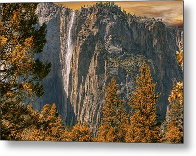 Metal Print featuring the photograph Yosemite In Fall by Michael Cleere