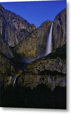 Yosemite Moonbow 2 Metal Print by Raymond Salani III