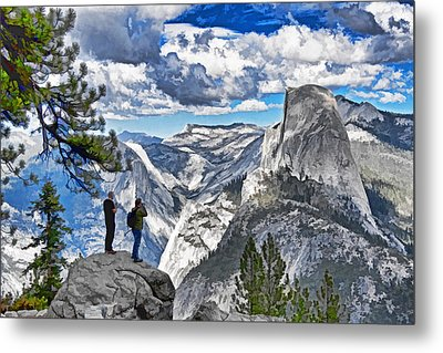 Yosemite Overlook Metal Print by Dennis Cox WorldViews