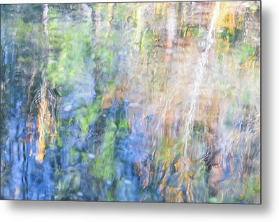 Yosemite Reflections 4 Metal Print by Larry Marshall
