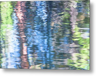 Yosemite Reflections Metal Print by Larry Marshall