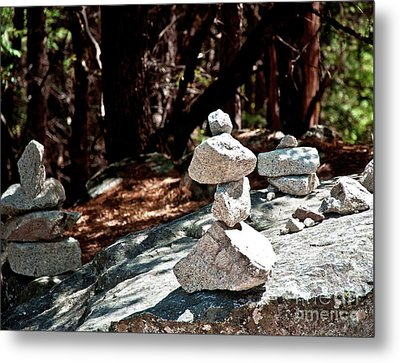 Yosemite Rock Art  Metal Print