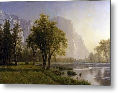 Yosemite Valley Metal Print by MotionAge Designs
