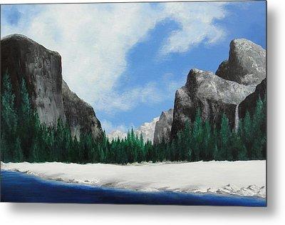 Yosemite Valley Metal Print by Robert Plog