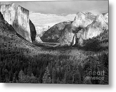 Yosemite Valley Metal Print by Sandra Bronstein