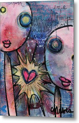 You Are Always In My Heart  Metal Print by Laurie Maves ART