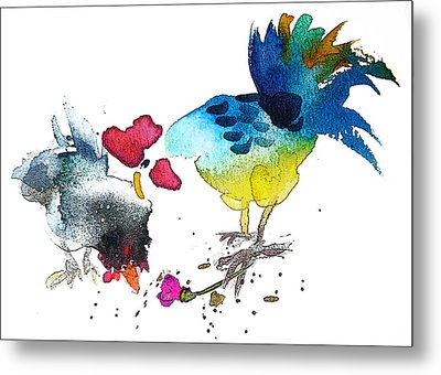 You Are My Sweet Heart Metal Print by Miki De Goodaboom