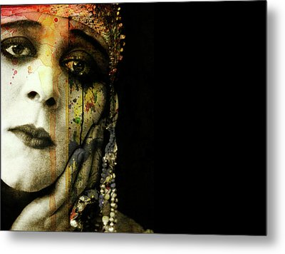 Metal Print featuring the mixed media You Never Got To Hear Those Violins by Paul Lovering