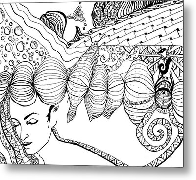 You Were In My Dream Metal Print by D Renee Wilson