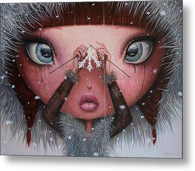 You'll Never Melt On Me Again Metal Print by Adrian Borda