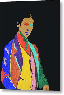 Young Frida K Metal Print