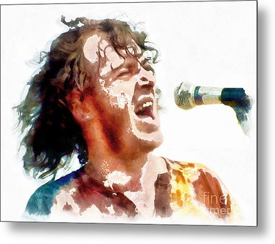 Young Joe Cocker Metal Print