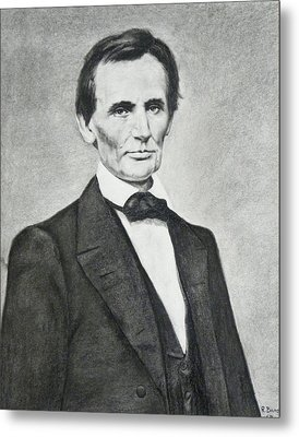 Young Lincoln Metal Print by Richard Barone
