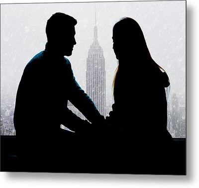 Young Love     Metal Print by Chris Lord