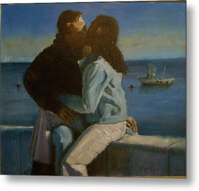 Young Love Metal Print by John Reynolds