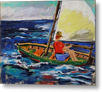 Metal Print featuring the painting Young Sailor by John Williams