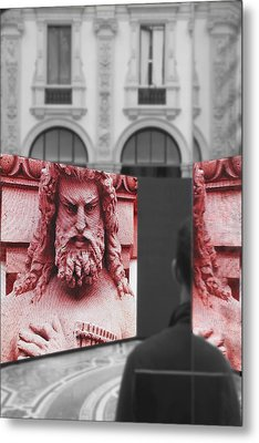 Your Fault Metal Print by Valentino Visentini