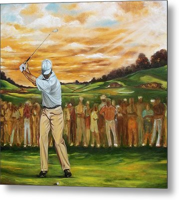 Metal Print featuring the painting Your Golf by Emery Franklin