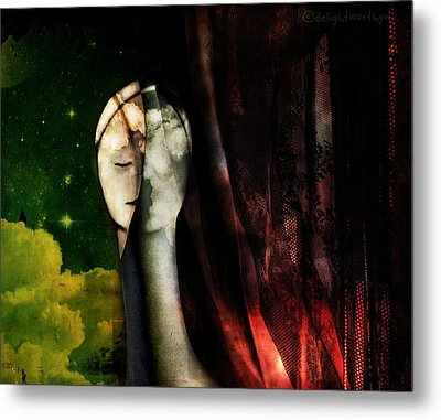 You...with The Clouds In Your Eyes Metal Print